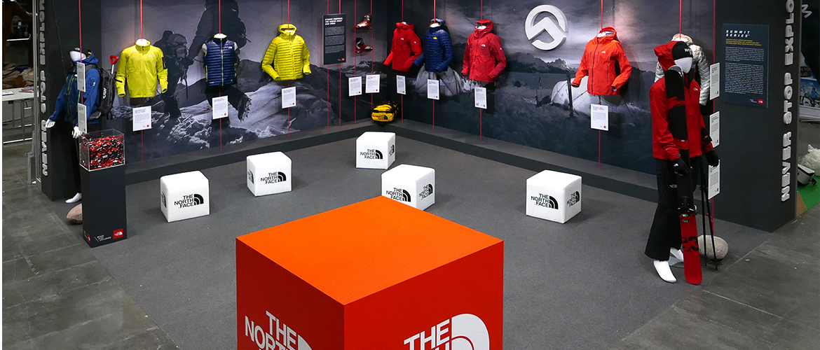 The North Face Header