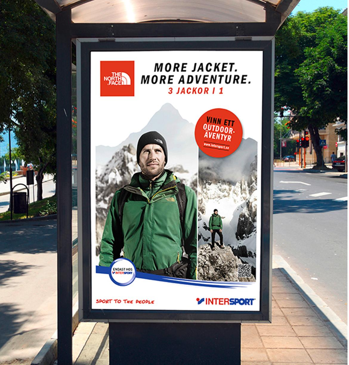 TNF More Jacket. More Adventure. campaign
